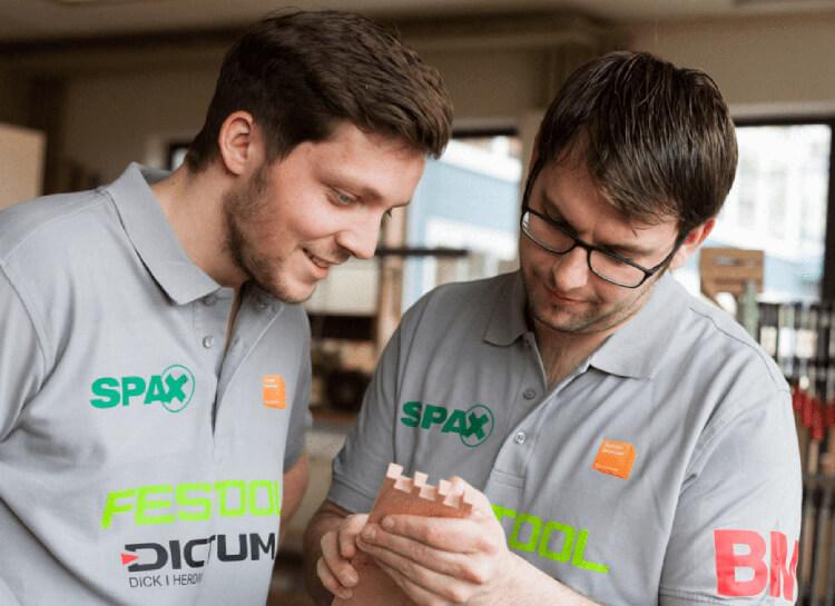 Florian Langenmair und Markus Figl bei World Skills 2016